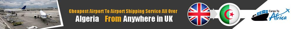 Send Cargo to Any Airport in Algeria from Any UK Airport