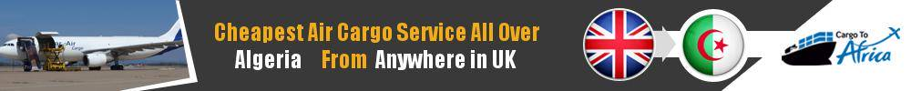 Send Cargo to Anywhere in Algeria from Anywhere in UK