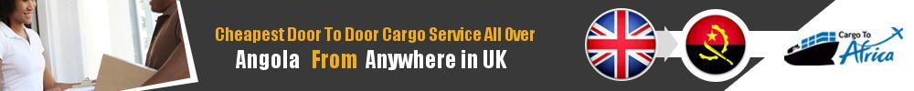 Send Sea Cargo to All Over Angola from Any UK Port