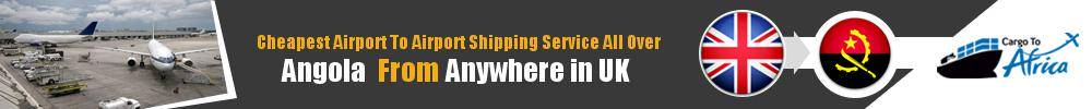 Send Cargo to Any Airport in Angola from Any UK Airport