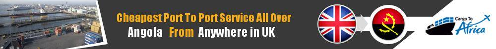 Send Sea Cargo to Any Port in Angola from Any UK Port