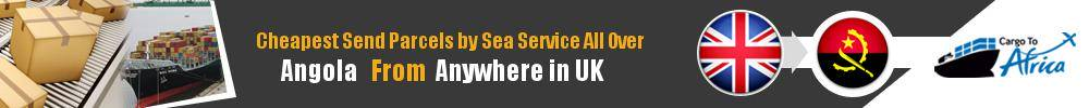 Ship Parcels to Angola by Sea Cargo
