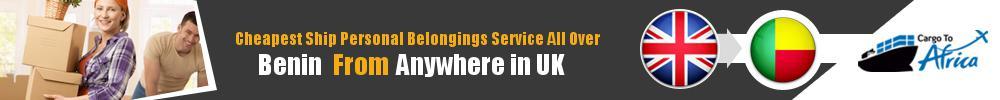 Send Personal Belongings to Benin by Air & Sea Cargo