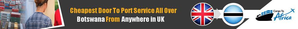 Send Sea Cargo to Any Port in Botswana from Any UK Area