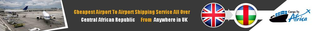 Send Cargo to Any Airport in Central African Republic from Any UK Airport