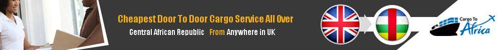 Send Sea Cargo to All Over Central African Republic from Any UK Port