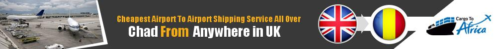 Send Cargo to Any Airport in Chad from Any UK Airport