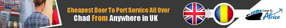 Send Sea Cargo to Any Port in Chad from Any UK Area