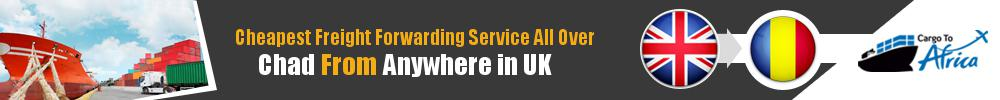 Cheapest Freight Forwarding to Chad from UK