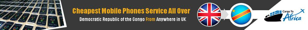 Cheapest Phone Shipping to Democratic Republic of the Congo from UK