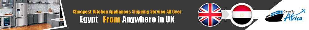 Send Kitchen Appliances to Egypt from UK