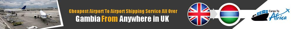 Send Cargo to Any Airport in Gambia from Any UK Airport