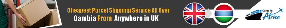 Cheapest Parcel Shipping to Gambia from UK