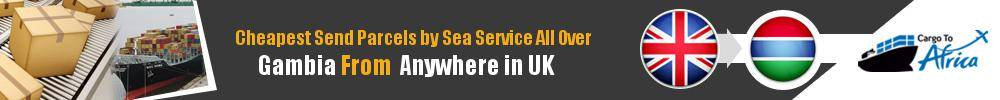 Ship Parcels to Gambia by Sea Cargo