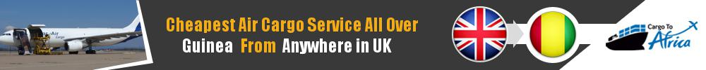 Send Cargo to Anywhere in Guinea from Anywhere in UK