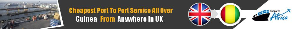 Send Sea Cargo to Any Port in Guinea from Any UK Port