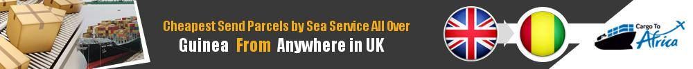 Ship Parcels to Guinea by Sea Cargo