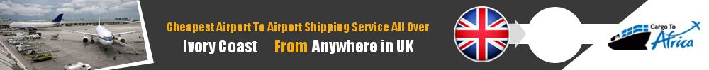 Send Cargo to Any Airport in Ivory Coast from Any UK Airport