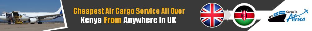 Send Cargo to Anywhere in Kenya from Anywhere in UK