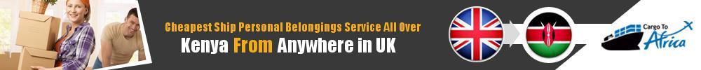 Send Personal Belongings to Kenya by Air & Sea Cargo