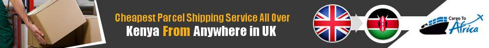 Cheapest Parcel Shipping to Kenya from UK
