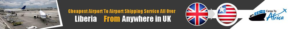 Send Cargo to Any Airport in Liberia from Any UK Airport