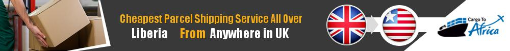Cheapest Parcel Shipping to Liberia from UK