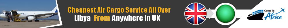 Send Cargo to Anywhere in Libya from Anywhere in UK