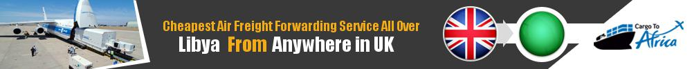 Cheapest Air Freight Forwarders to Libya from UK