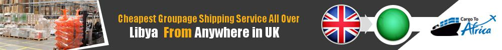 Cheapest Groupage Shipping to Libya from UK