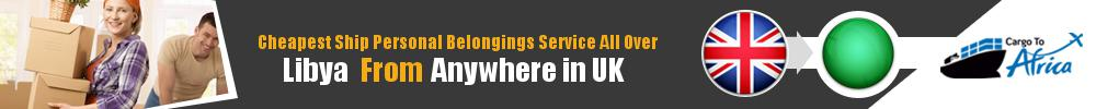 Send Personal Belongings to Libya by Air & Sea Cargo