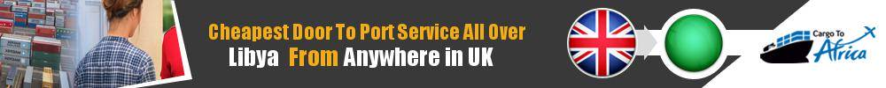 Send Sea Cargo to Any Port in Libya from Any UK Area