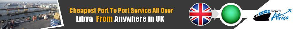 Send Sea Cargo to Any Port in Libya from Any UK Port
