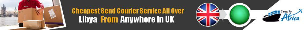 Send Courier to Libya from UK