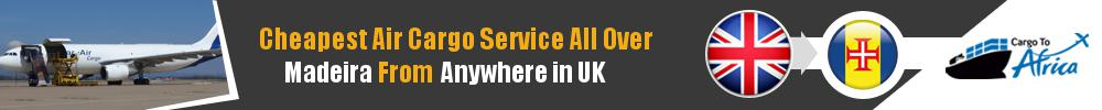 Send Cargo to Anywhere in Madeira from Anywhere in UK