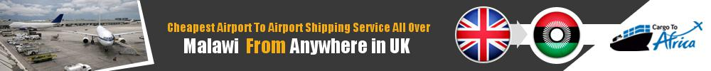 Send Cargo to Any Airport in Malawi from Any UK Airport