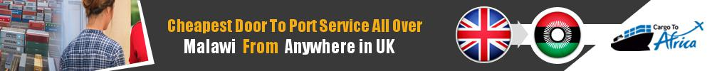 Send Sea Cargo to Any Port in Malawi from Any UK Area