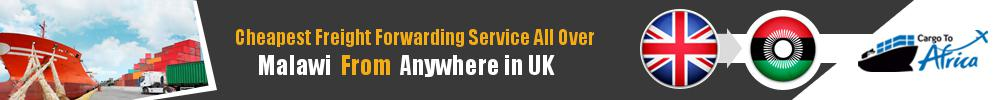 Cheapest Freight Forwarding to Malawi from UK