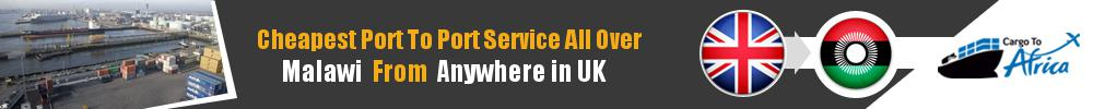 Send Sea Cargo to Any Port in Malawi from Any UK Port