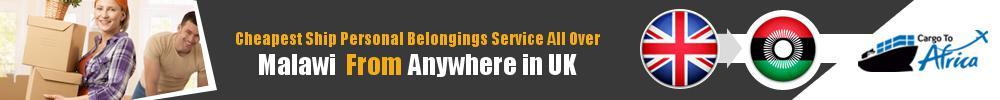Send Personal Belongings to Malawi by Air & Sea Cargo