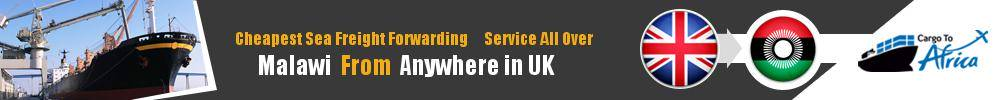 Cheapest Sea Freight Forwarding to Malawi from UK