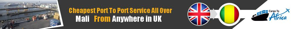 Send Sea Cargo to Any Port in Mali from Any UK Port
