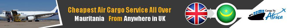 Send Cargo to Anywhere in Mauritania from Anywhere in UK