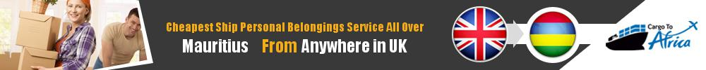 Send Personal Belongings to Mauritius by Air & Sea Cargo