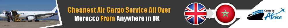 Send Cargo to Anywhere in Morocco from Anywhere in UK
