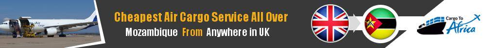 Send Cargo to Anywhere in Mozambique from Anywhere in UK