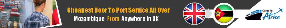 Send Sea Cargo to Any Port in Mozambique from Any UK Area
