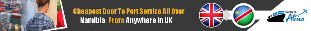 Send Sea Cargo to Any Port in Namibia from Any UK Area