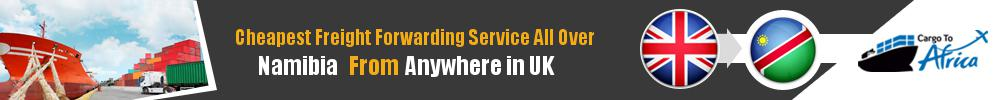 Cheapest Freight Forwarding to Namibia from UK