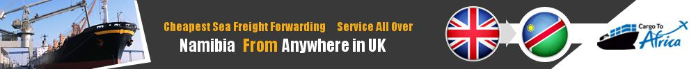 Cheapest Sea Freight Forwarding to Namibia from UK